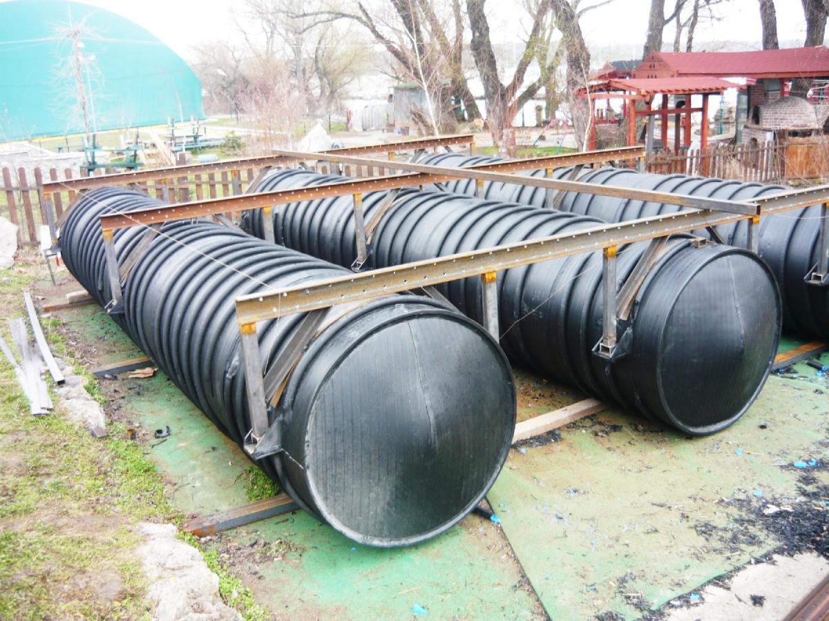 cevi za pontone sa metalnom konstrukcijom